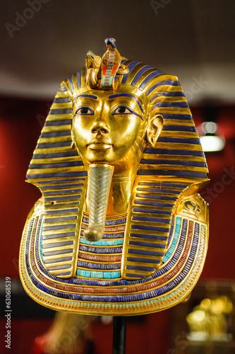 Photo Burial mask of the egyptian pharaoh Tutankhamun