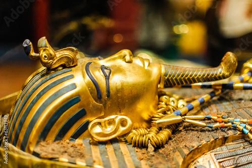 Fotografie, Tablou Mask of pharaoh Tutankhamun