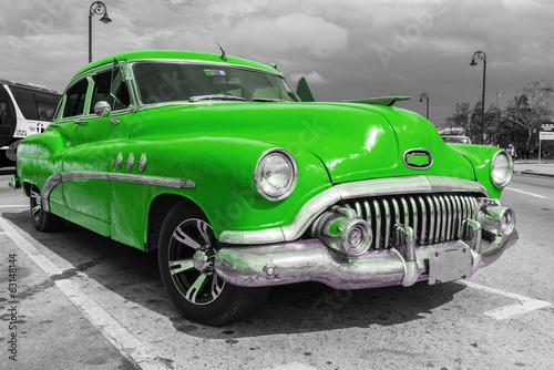 Fototapeta premium Stary amerykański samochód