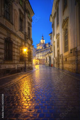 Fototapeta premium Uliczki Wrocławia