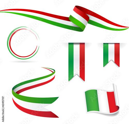 Obraz na płótnie Bandiera Italiana