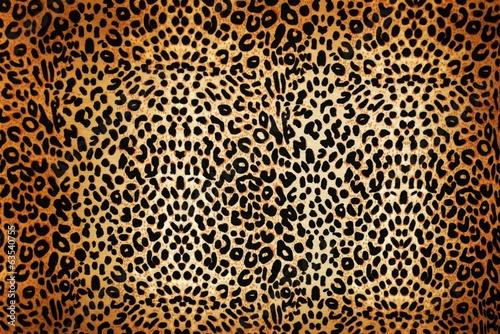 Photo leopard pattern