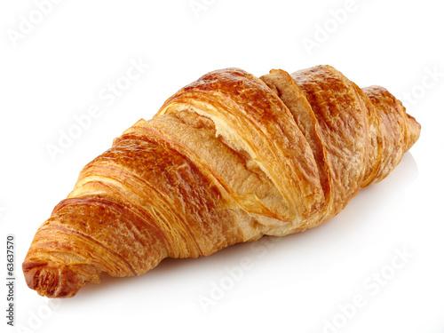 Fresh croissant Fototapeta