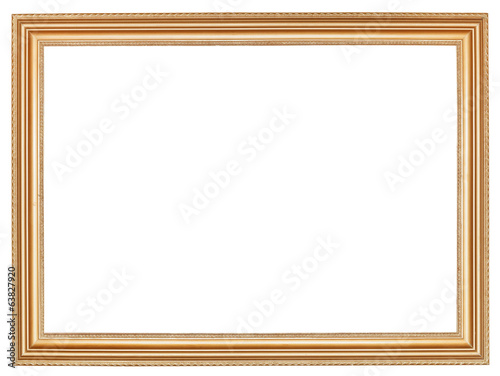 classic wide retro wooden picture frame