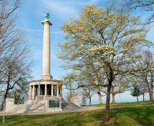 Monument to Civil War soldiers in Chattanooga Tapéta, Fotótapéta
