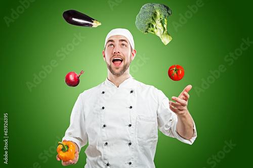 Chef Juggler