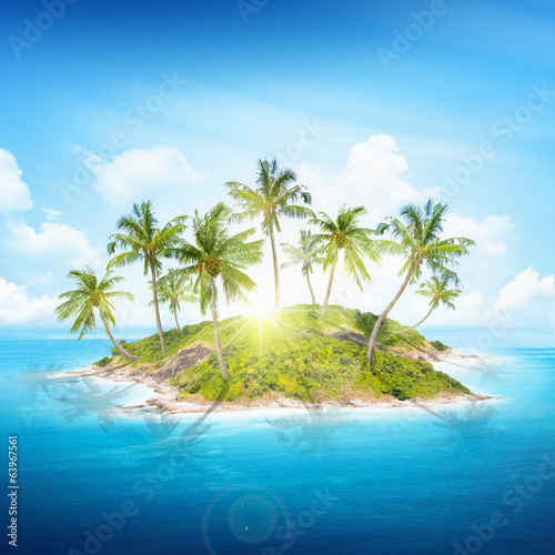 Fotografia Tropical island