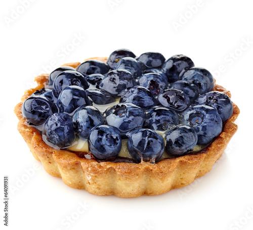 Blueberry tart Fototapeta