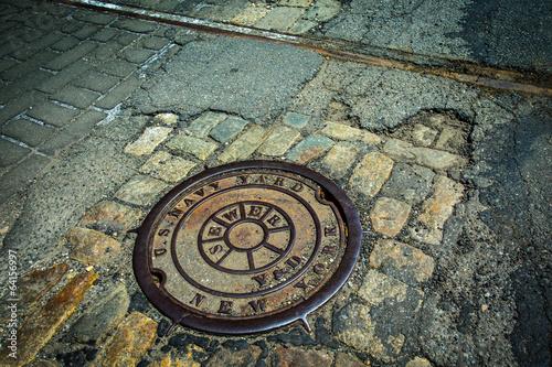 Fotografía Brooklyn Navy Yard Sewer Drain