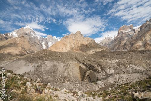 Landscape of Karakoram mountain range, Northern Pakistan