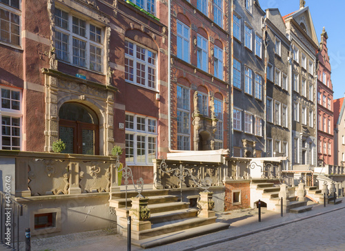 Old Mary's street, Gdansk, Poland #64306762