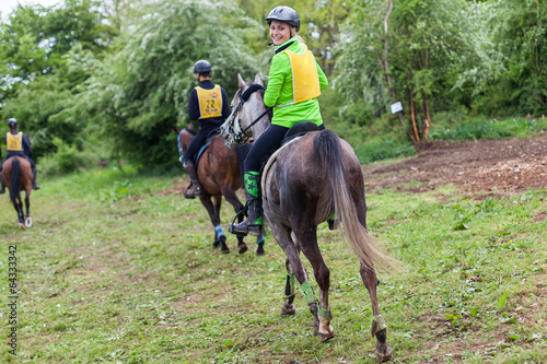 Equitation Fototapeta