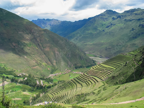 Photo Sacred valley of Incas in Peru