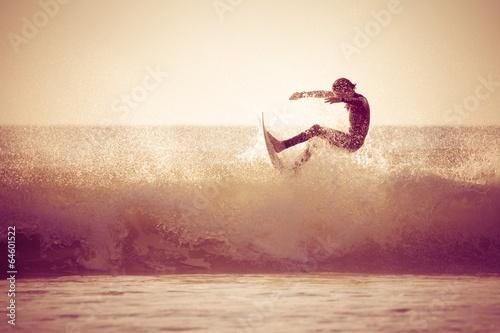 Surfing Fototapeta