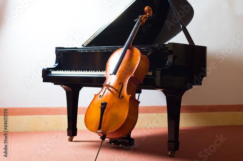 Slika na platnu Classical music