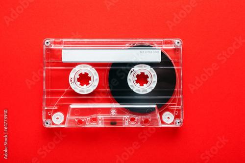 Fotografia An old styled cassette