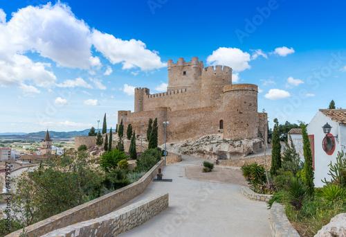 Canvas-taulu Villena Castle, Alicante Province, Spain