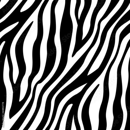 Fotografia Zebra Stripes Seamless Pattern