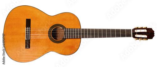 Fotografia full view of spanish acoustic guitar