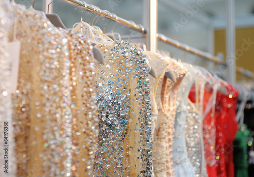 Carta da parati A few beautiful wedding or evening dresses