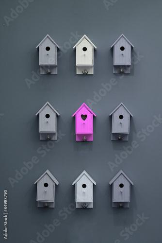 Leinwand Poster Nachbarschaft