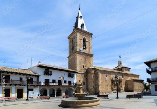 Square of Tarazona de la Mancha II