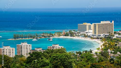 Fotografie, Obraz Ocho Rios Jamaica Bay