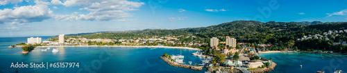 Photo Och Rios Jamaica Bay Panoramic