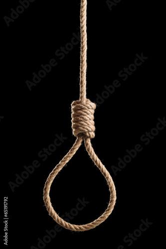 Fotografija Dark hangman's rope