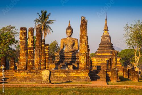 Wallpaper Mural Sukhothai ruin old city country Thailand