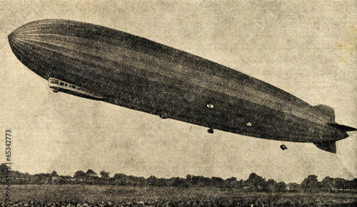 Zeppelin airship