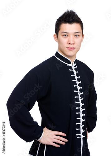 Chinese kung fu master Fototapeta