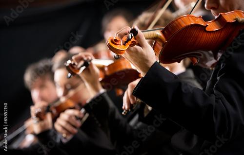 Carta da parati Orchestra first violin section