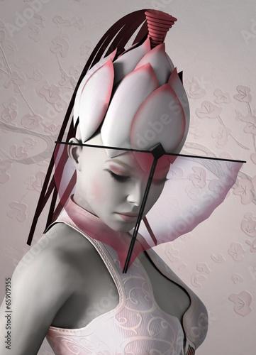 Fotografia Kabuki actress