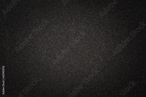 black asphalt texture Fotobehang