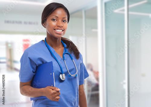 Obraz na plátně Young nurse portrait