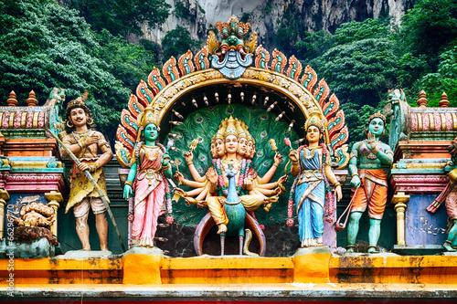 Hindu temple, Kuala Lumpur - Malaysia