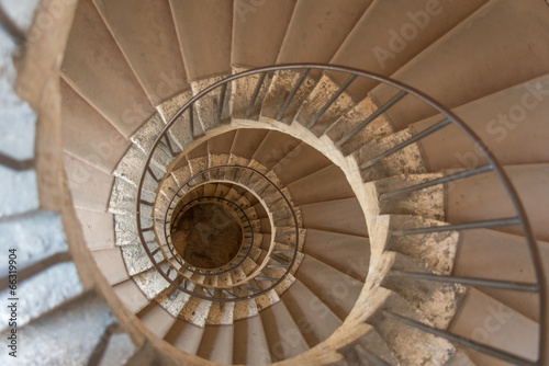 Treppenhaus in der Villa d'Este #66319904