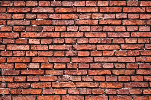 Fototapeta premium Stary mur z cegły