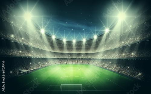 Fototapeta premium Światło stadionu