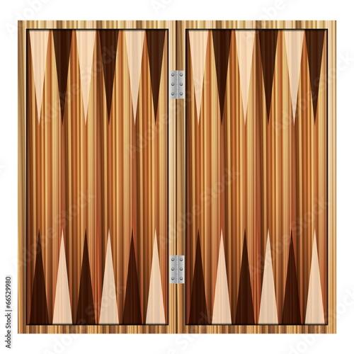Obraz na płótnie backgammon