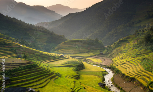 Fotografia farmer and farm