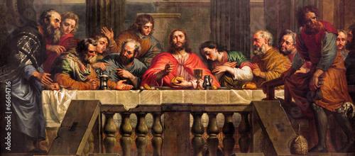 Fotografija Mechelen - The Last Supper  in church Our Lady across de Dyle.