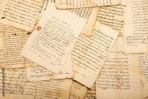 Fotografie, Obraz Vintage letters