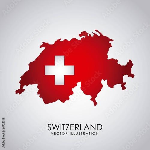 Canvas Print Swiss design