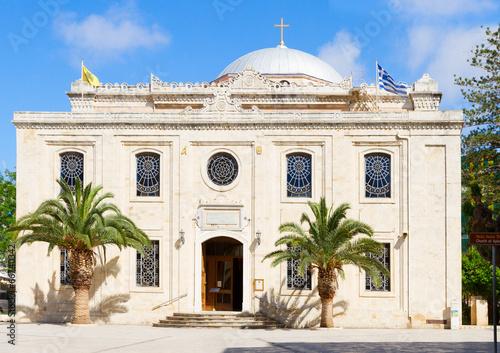Fotografia basilica of St Titus, Heraklion, Greece
