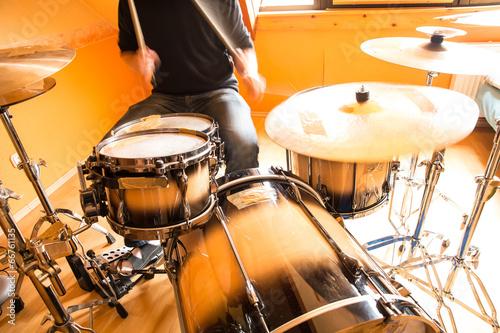 Obraz na plátně Schlagzeuger
