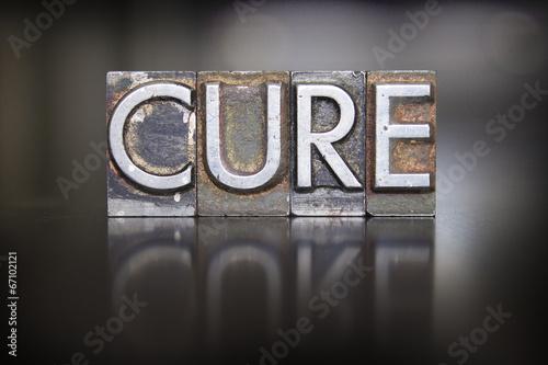 Obraz na płótnie Cure Letterpress