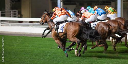 Fotografia Pferderennen in Hongkong