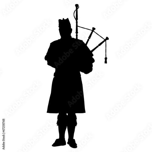 Slika na platnu Scottish Piper
